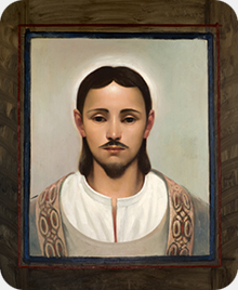 The Holy Prophet Mani, painting by Jan Saether